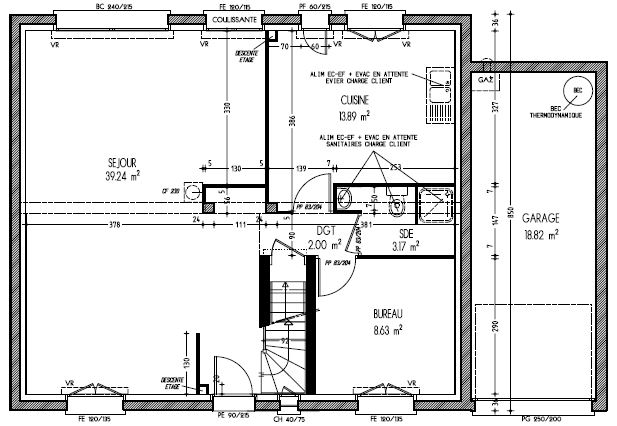 Plans maison familiale le blog de la construction de for Plan de maison familiale